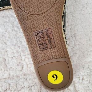 MICHAEL Michael Kors Shoes - Michael Kors Black Leather & Jute Mules NWT